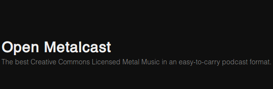 Open MetalCast